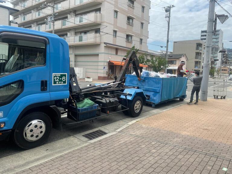 すたーとらいんは一般廃棄物収集運搬処理業と提携しております。
