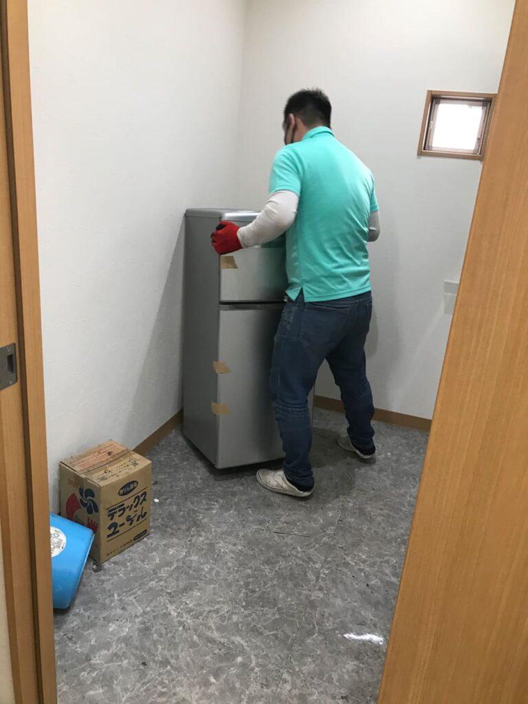 リサイクル家電整理の写真