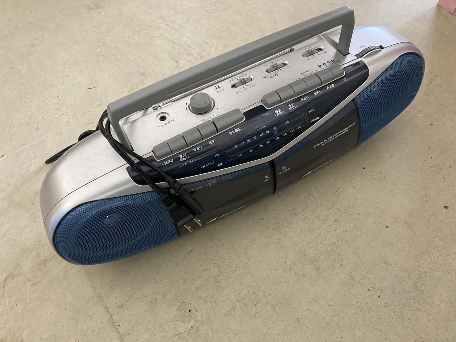 オーディオ機器の写真
