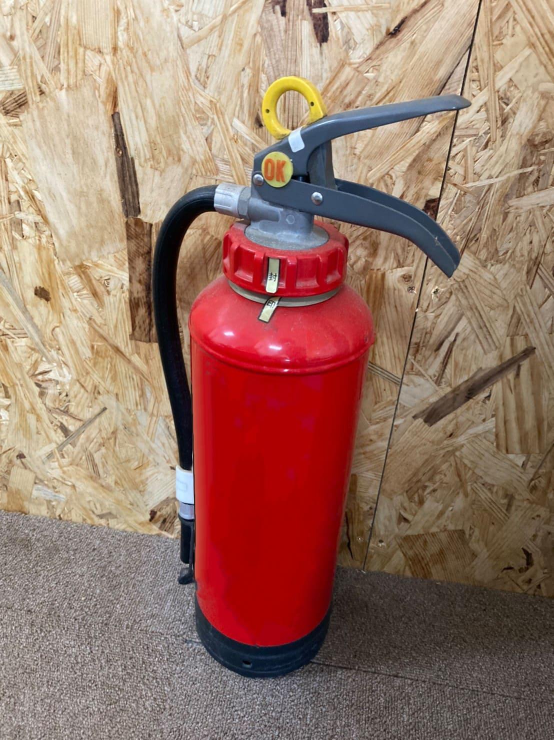 消火器の写真