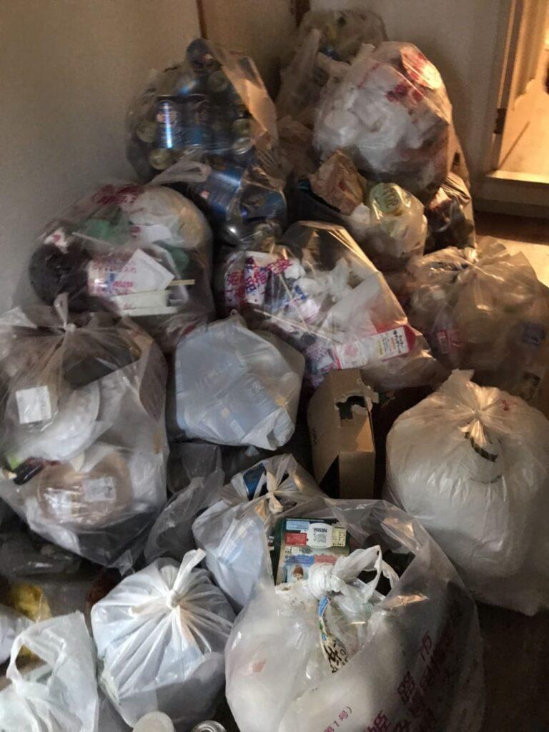 ゴミ袋の写真