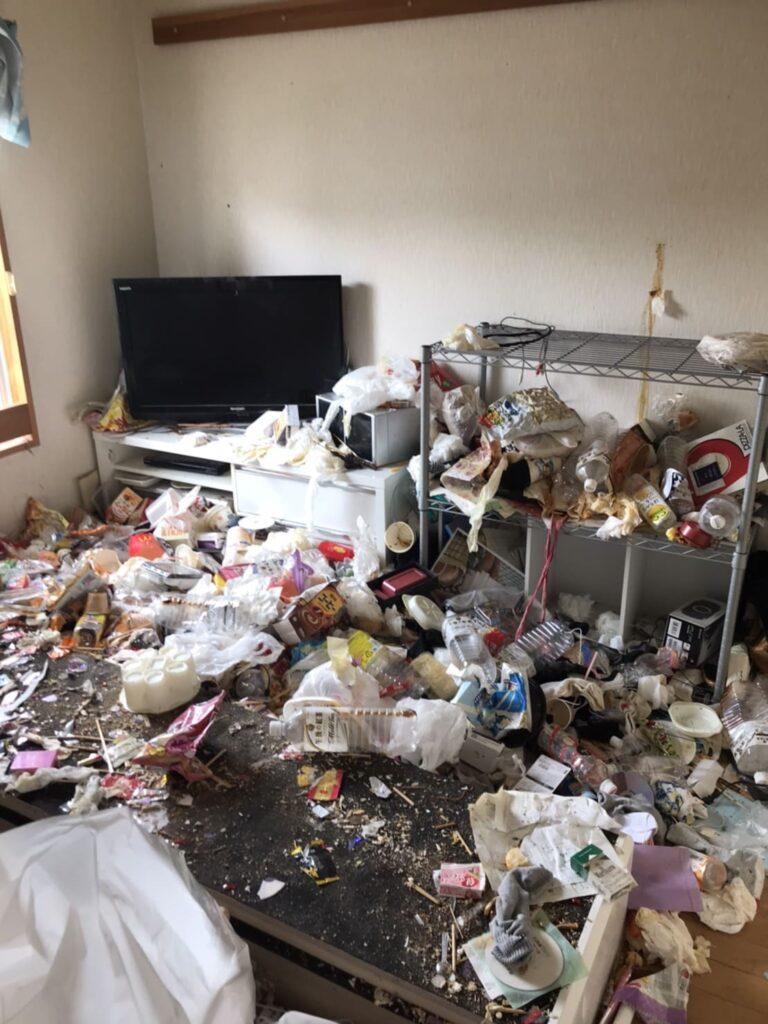 過酷なゴミ屋敷の中で片付け作業をすることの想い