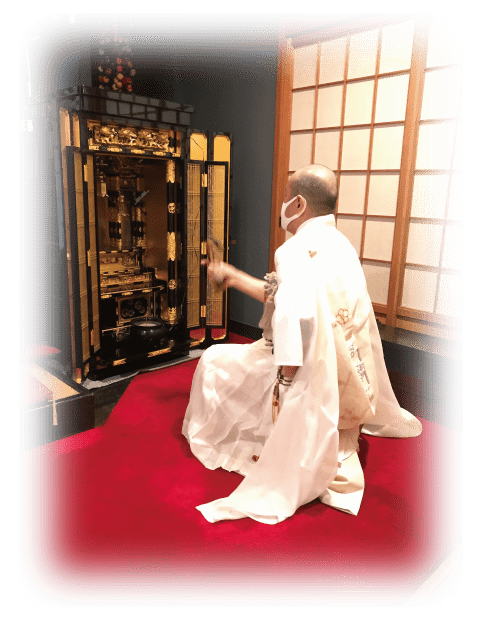 仏壇供養の写真