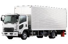 4トントラック(ハコ車)の写真