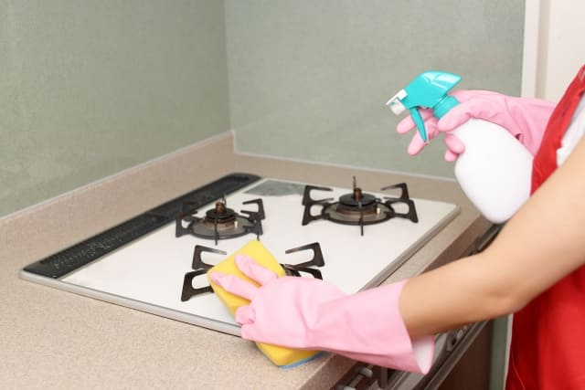 簡易清掃の写真